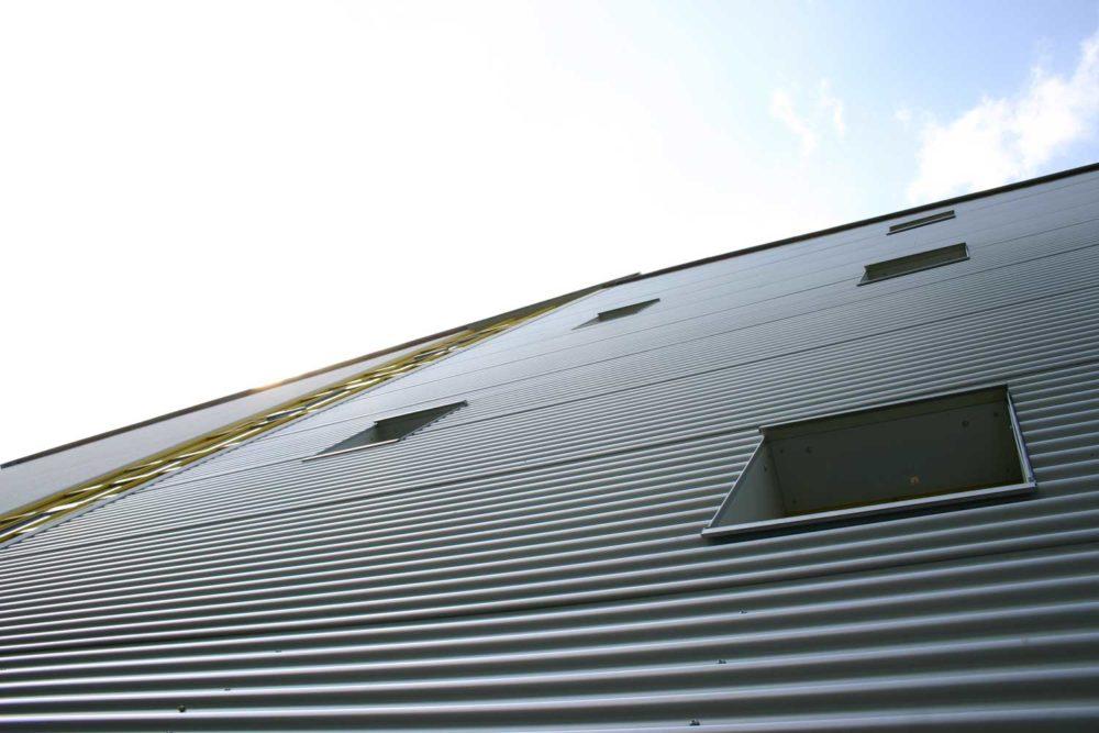 strassenseitige Fassade