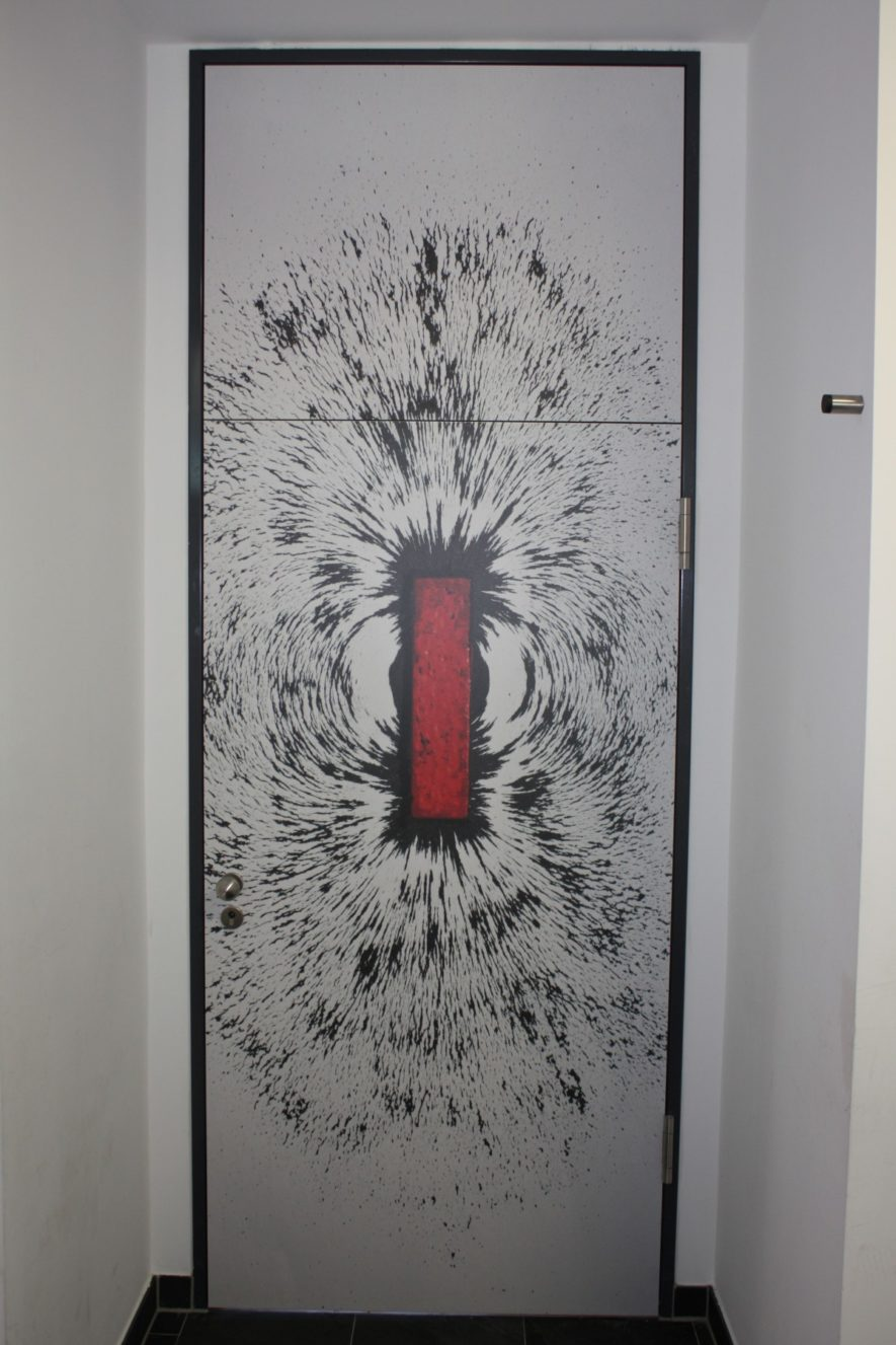 Tür Physiksaal
