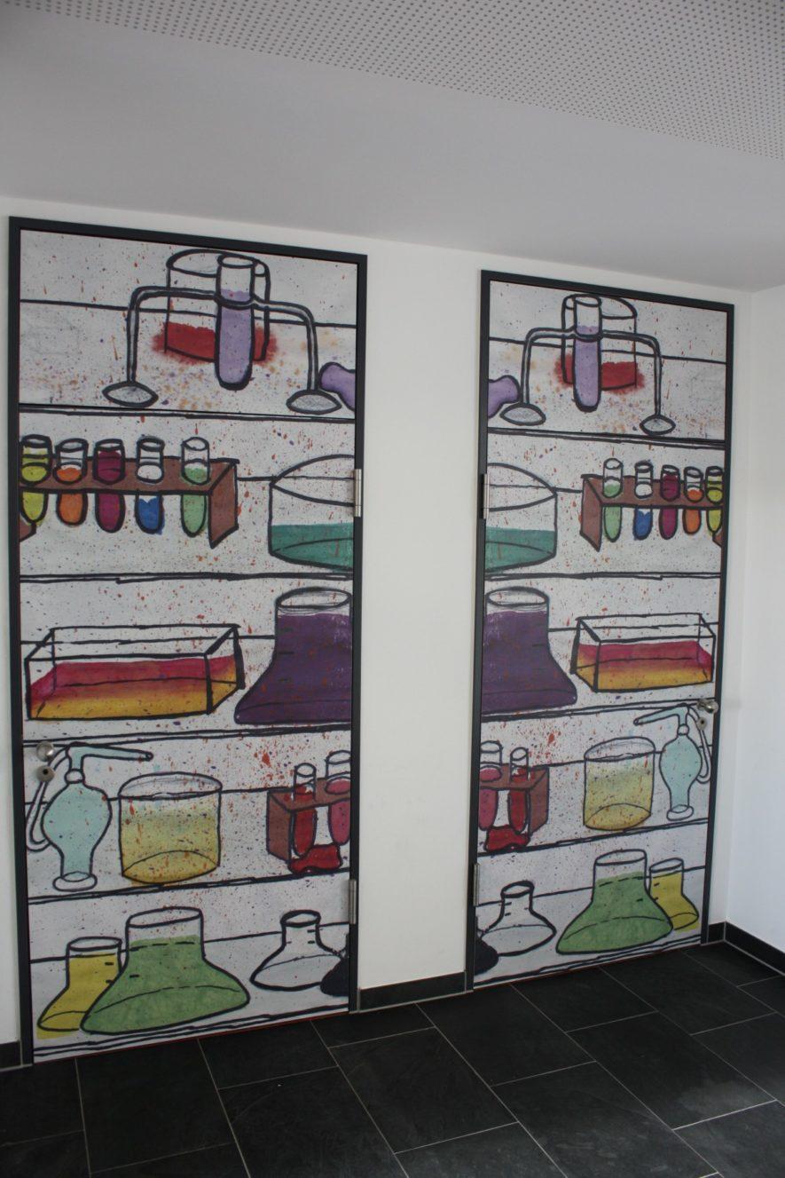 Türen Chemiesäle