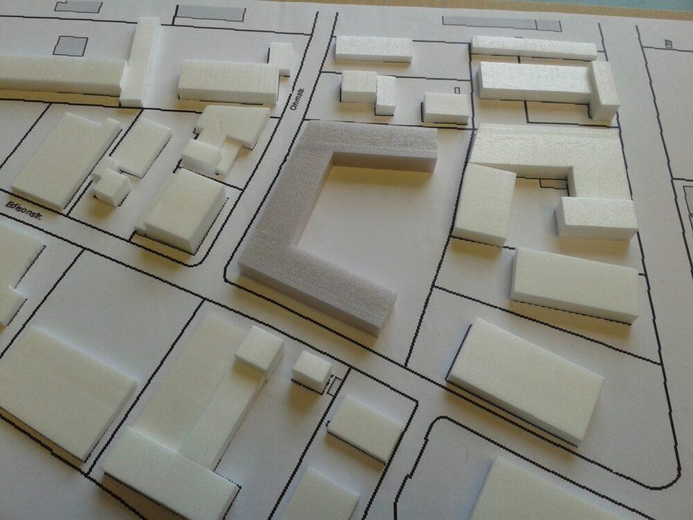 Modell des Entwurfs