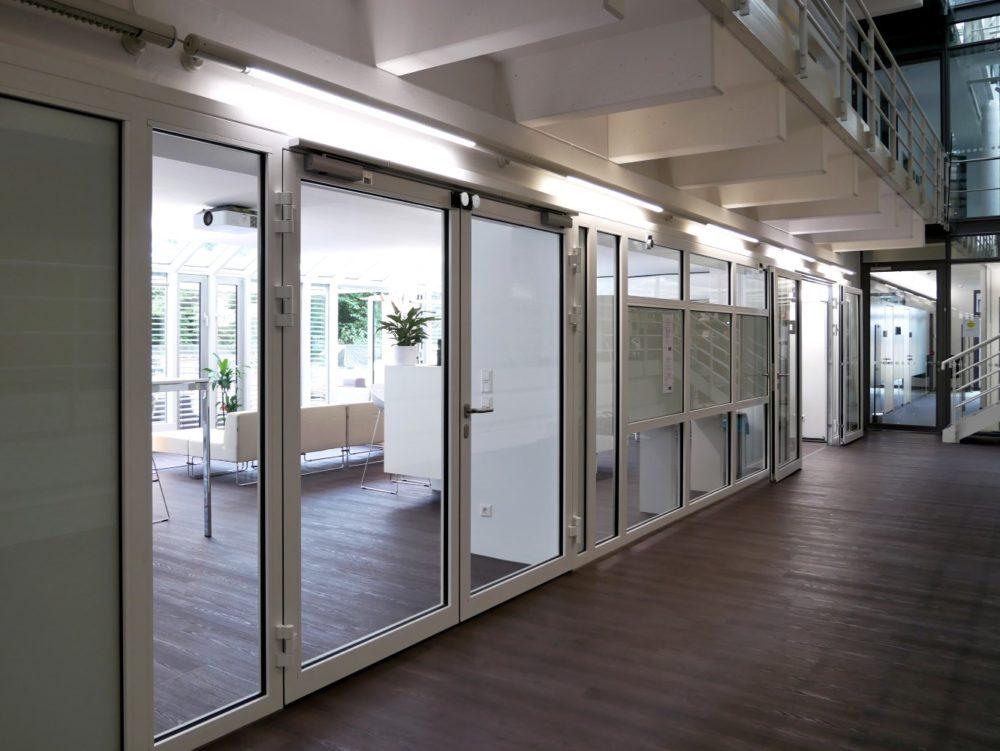 Eingangsbereich Kommunikationszone