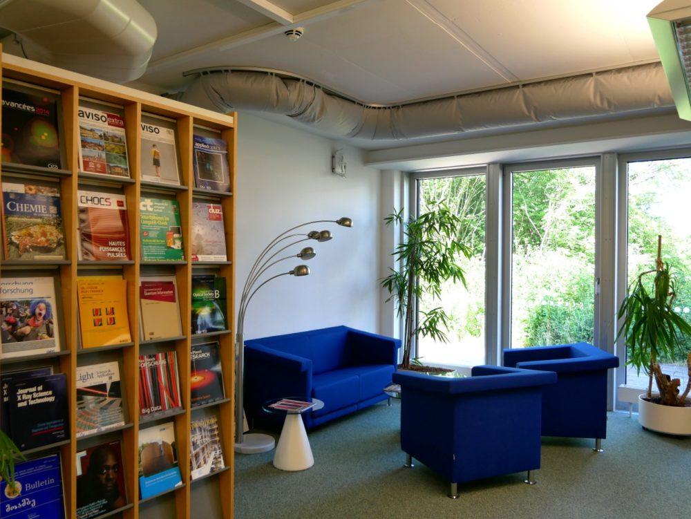 Sitzecke Bibliothek