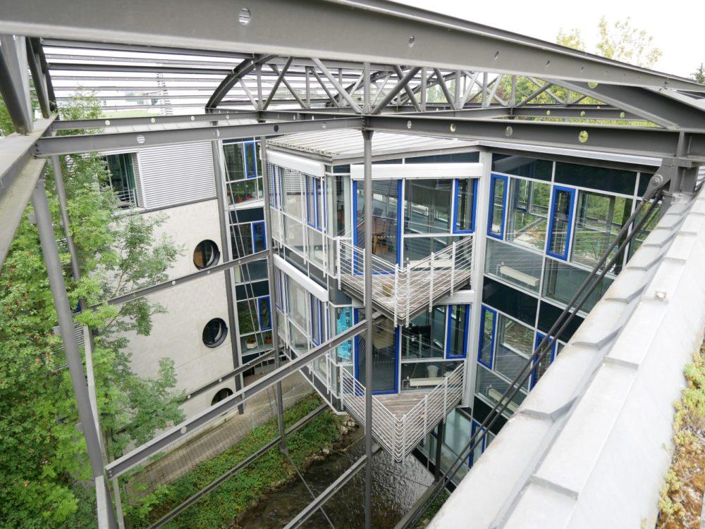 Besprechungsräume über dem Giessenbach