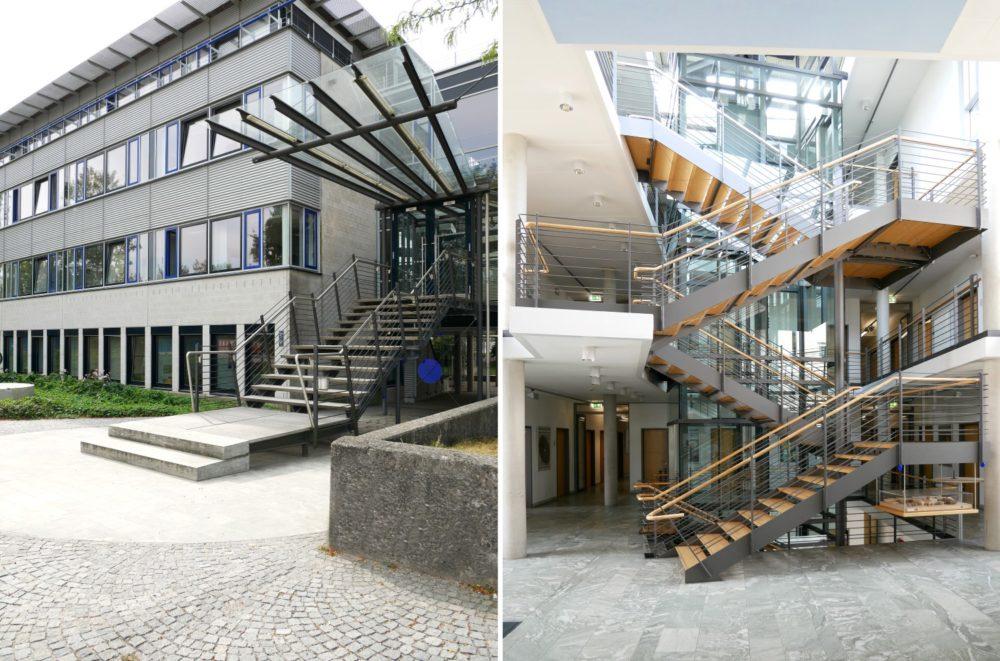 Eingang und Treppenhaus