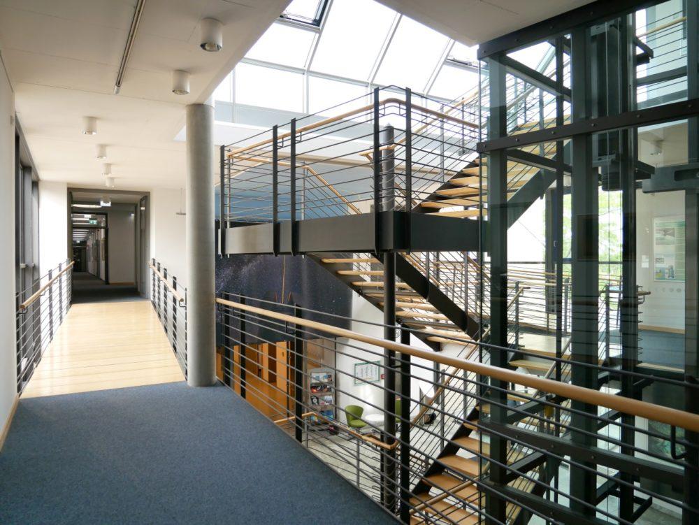 Treppenhaus mit Oberlicht